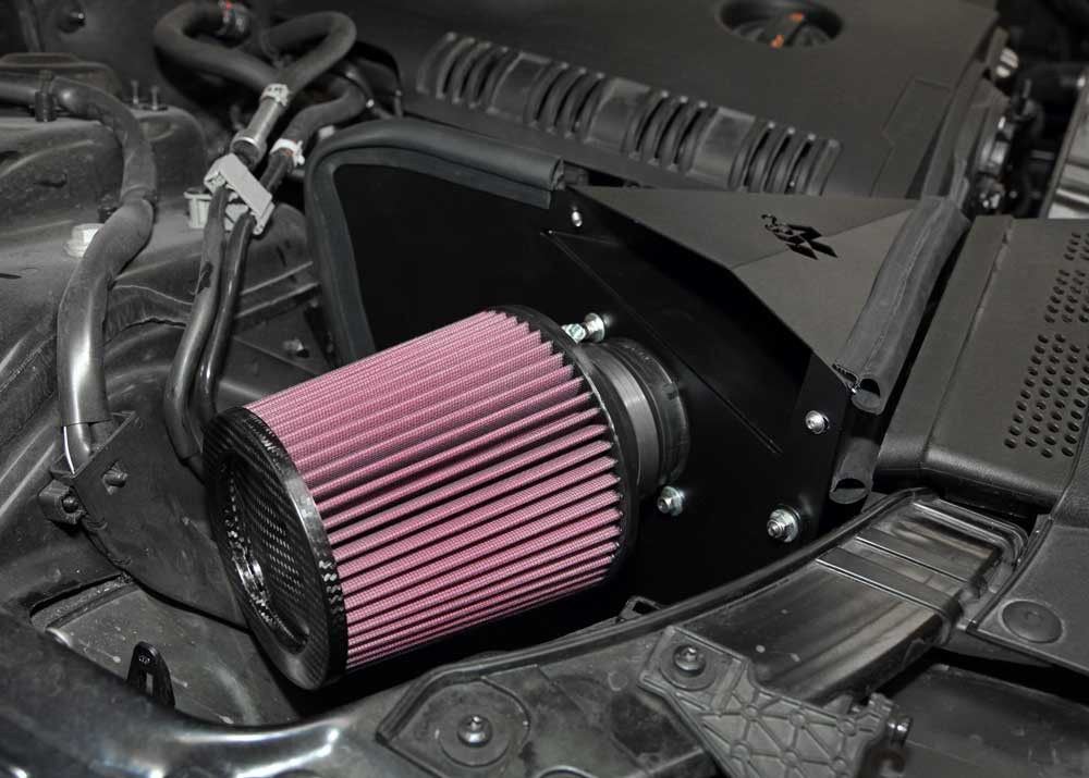 K&N Typhoon Cold Air Intake for 09-13 Audi A4 2.0L (Incl. Quattro & Cabriolet)