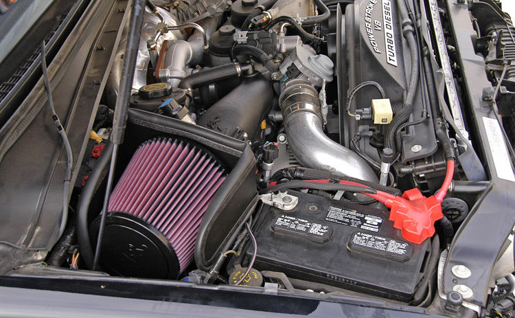K&N 57-3057 Cold Air Intake for 05-07 SILVERADO & SIERRA, 6.6L V8 *50 State Legal* +22HP