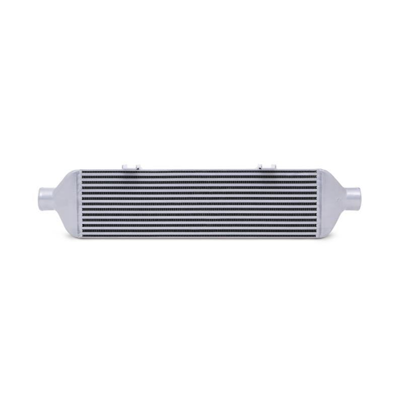 MISHIMOTO Front-Mount SILVER Intercooler w/Polished Pipes, for 15+ Subaru WRX