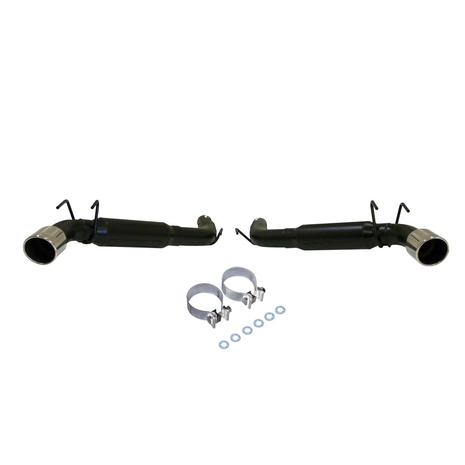 FLOWMASTER Outlaw Axle-back Polished Dual Exhaust for 10-13 Chevy CAMARO SS