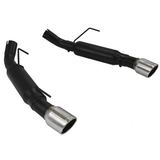 FLOWMASTER 409S Outlaw Axle-Back Dual Exhaust, 05-10 Mustang GT & GT500