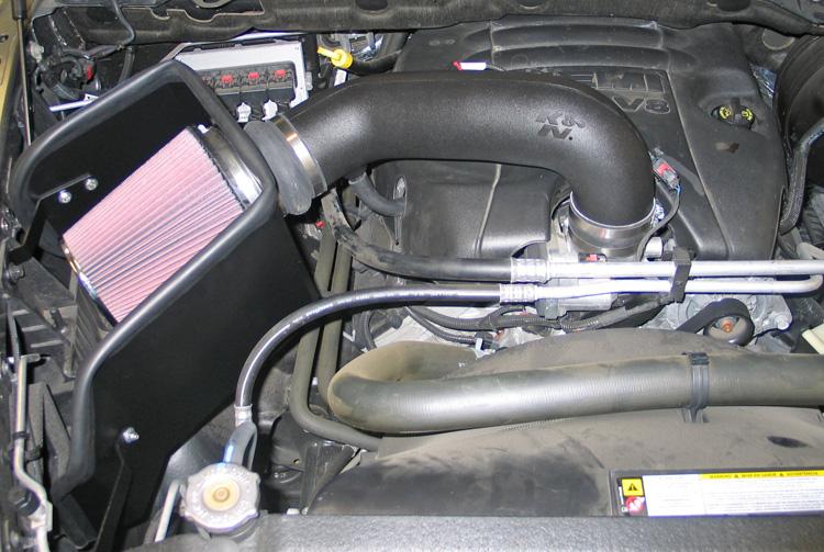 K&N 63-1561 Air Intake, 09-15 Dodge RAM 1500, 5.7L V8