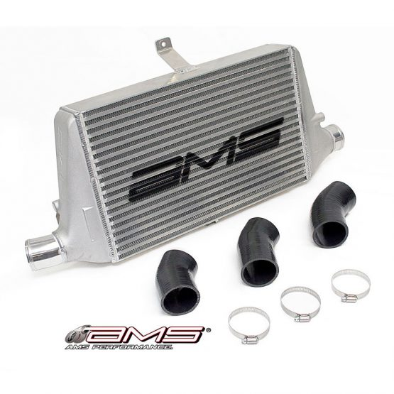 AMS Front Mount Intercooler Upgrade w/Logo, 03-06 Lancer EVO 7/8/9