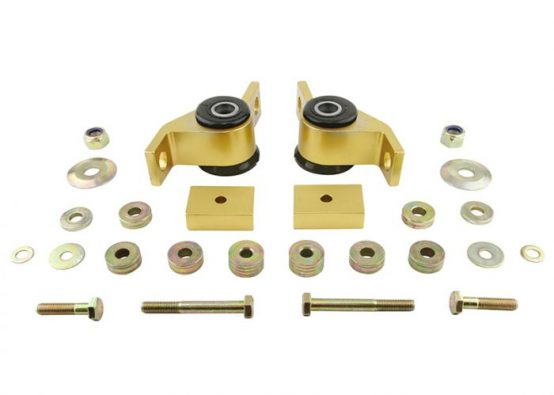 WHITELINE Front COMFORT Anti-Lift Caster Bushings Kit, 02-07 IMPREZA WRX STI