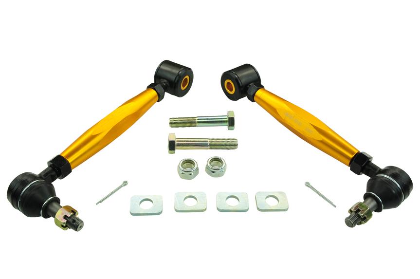 WHITELINE Complete REAR Lower Toe Control Arms Set for 08-17 IMPREZA, WRX, STI