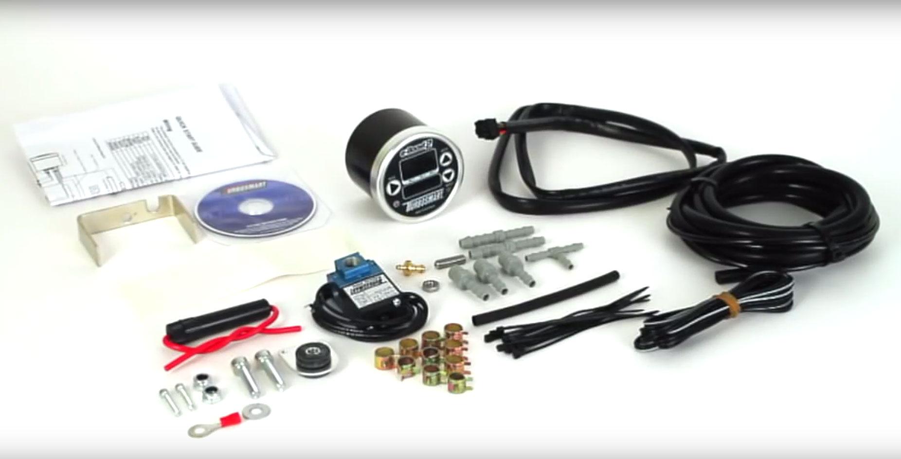 Turbosmart eBoost2 EBC Electronic Turbo Boost Controller Gauge, 60mm (Black)