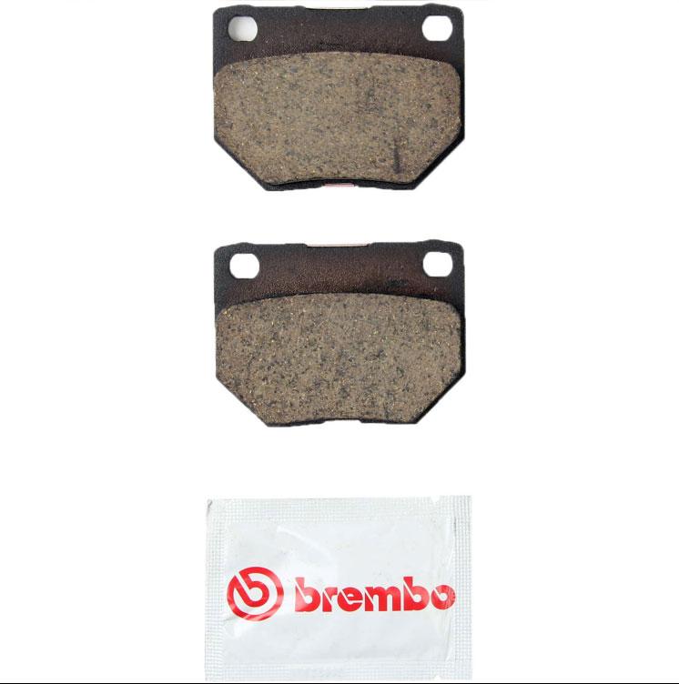 BREMBO Rear Ceramic Brake Pads PAIR, Disc Brakes, for 1990-1996 Nissan 300ZX