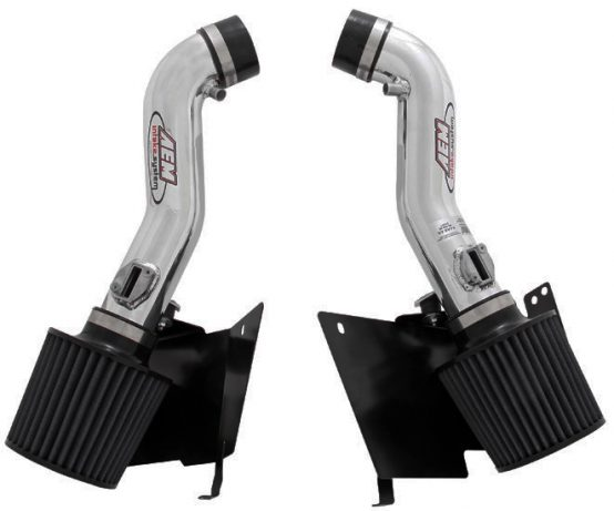 AEM Dual Polished Cold Air Intake Filter System, for 2007-2008 Nissan 350Z