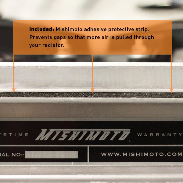 MISHIMOTO Aluminum Fan Shroud for Nissan 240SX+Silvia w/KA Engine (95-98)