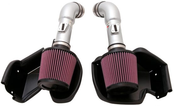 K&N Typhoon Dual Air Intake System, for Nissan 370Z (09-14), Infiniti G37 (08-13)