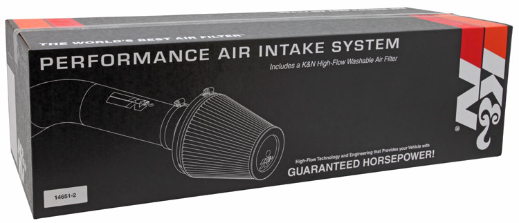 K&N 63-2589 Air Intake for 15-17 Ford Mustang EcoBoost 2.3L